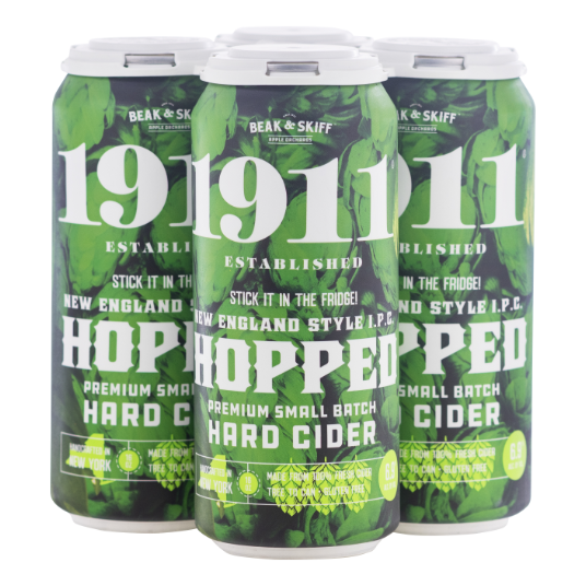 1911 New England Style Hopped hard cider 4-Pack