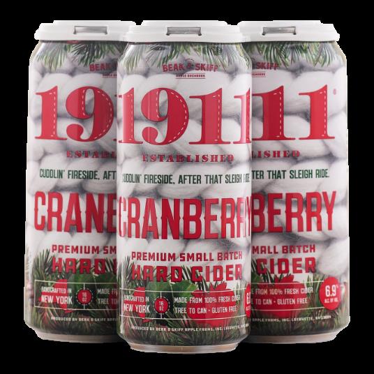 1911 Cranberry hard cider 4-pack