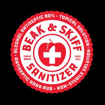 Beak & Skiff Sanitizer logo